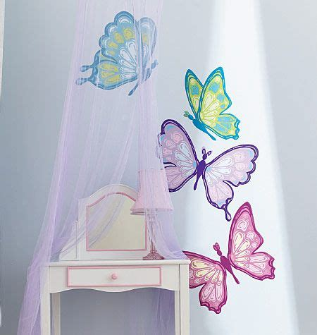 moth in room butterflies rooms and rooms on