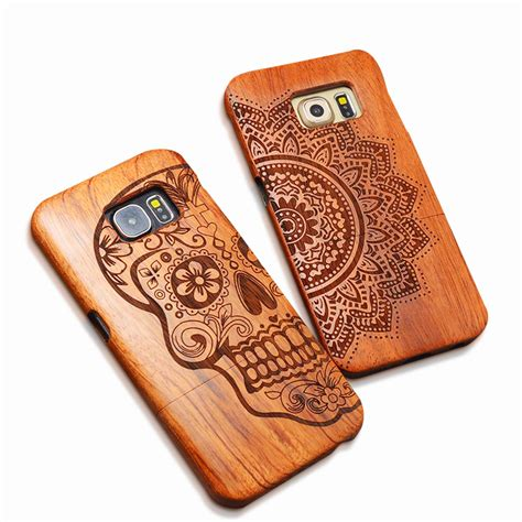 Wooden For Samsung S7 6 wood for iphone x 8 7 6 6s plus se 5s samsung galaxy s6 s7 edge plus s5 s4 note 8 7