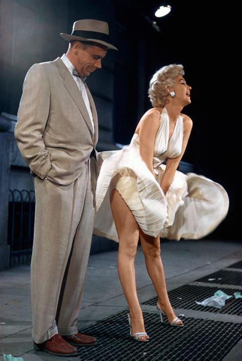 Dress Marilyn the of marilyn monroe s iconic flying skirt