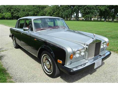 rolls royce silver shadow 1979 rolls royce silver shadow for sale classiccars com