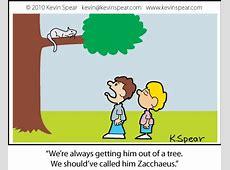 Zacchaeus Was a Wee Little Cat | Kevin H. Spear Zacchaeus Bible Story