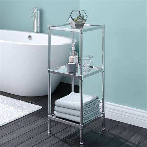 rebrilliant glacier      bathroom shelf