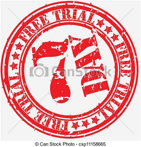 7 Day Free Trial Search Clip Vector Of Grunge 7 Day Free Trial Rubber St Vector Csp11158665 Search