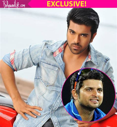 ram charan teja and exclusive ram charan teja to play suresh raina in sushant
