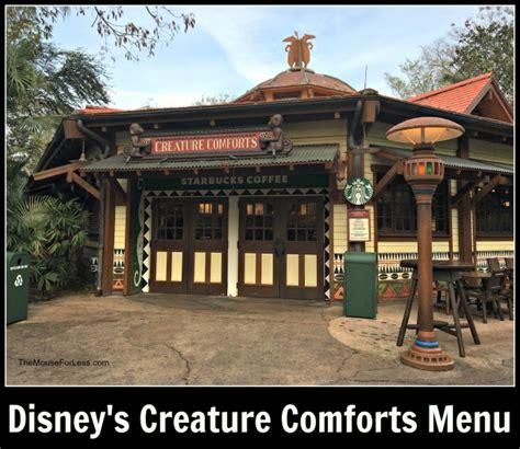 starbucks disney world animal kingdom starbucks creature comforts menu disney s animal kingdom
