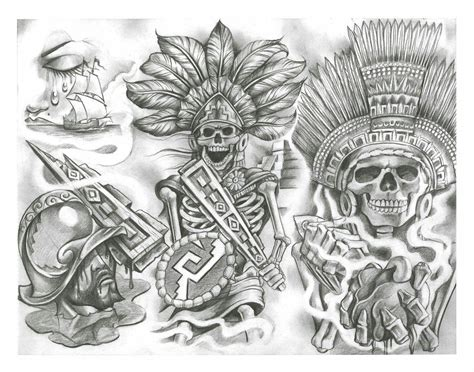 mexican tattoo designs art pin by kyle moeses on ideas