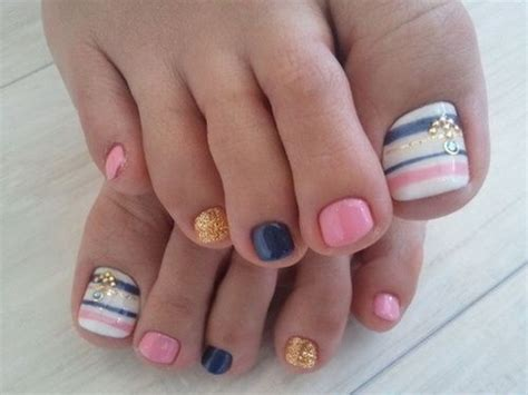 how to design toenails at home easy toe nail design ideas to do home nail designs
