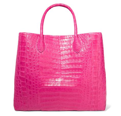 Nancy Gonzalez Latticework Crocodile Tote by Nancy Gonzalez S Exceptional Exotics Are The Subtly Luxe