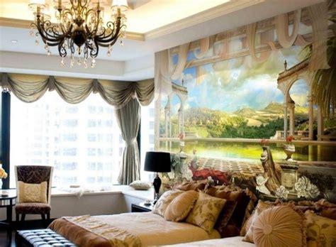 Schlafzimmerwand Leuchter by Wandmalerei Macht Das Wohnzimmer Noch Wohnlicher 30