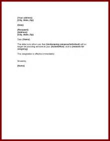 Letter Of Resignation Effective Immediately by Personal Resignation Letter Sle My Wallpaper