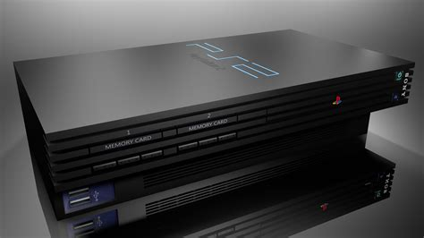 Play Station 2 playstation 2 by lucadigitalarts on deviantart