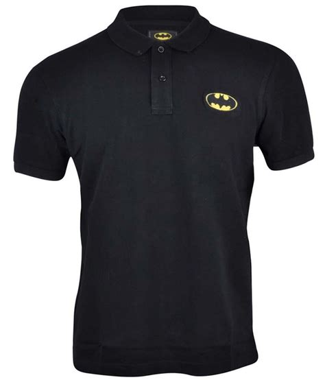 batman black polo t shirt buy batman black polo t shirt at low price snapdeal
