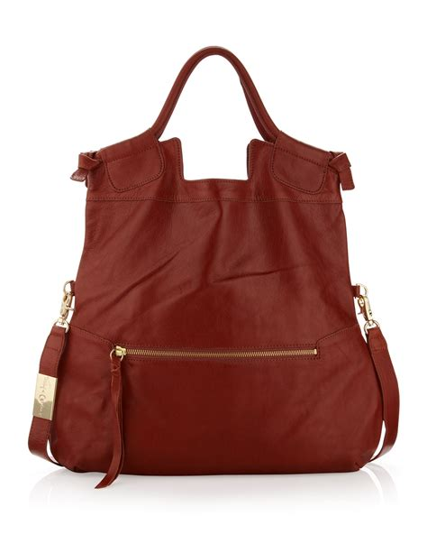 Foley And Corinna City Tote by Foley Corinna Mid City Tote Bag In Brown Terracota Lyst