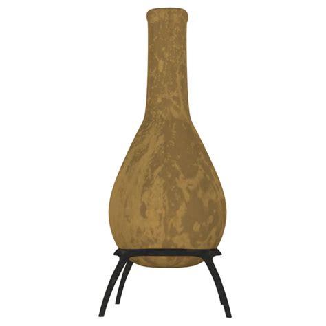 chiminea outdoor fireplace obj