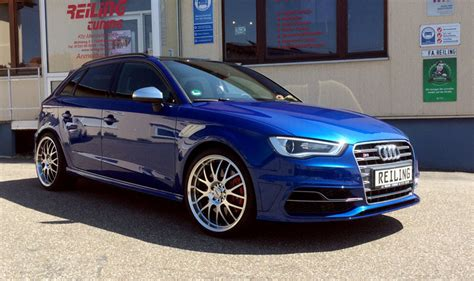 Audi S3 Chiptuning by Audi S3 Sportback Reiling Tuning