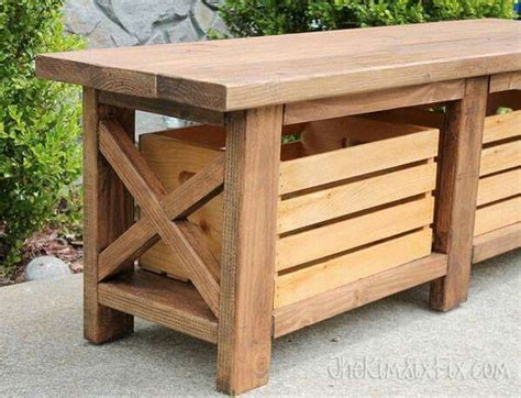 wooden crate bench crate bench benches pinterest crates benches and