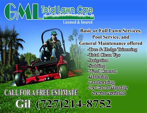 mowing flyer template lawn care gml total lawn care flyer lawn care