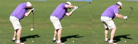 secret to golf swing you won t believe this golfer s strange but effective swing