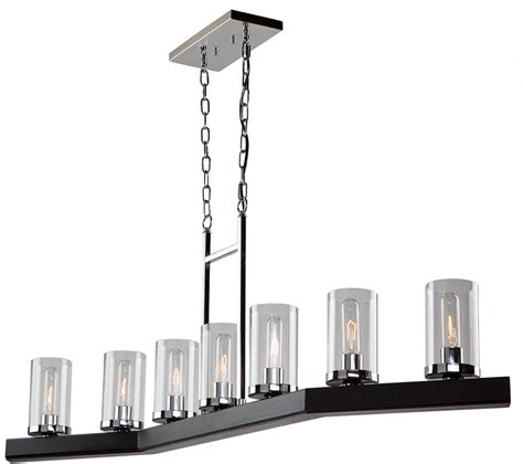 Modern Island Lighting Fixtures Artcraft Ac10847dc Creek Contemporary Authentic Pine Island Light Fixture Ac10847dc