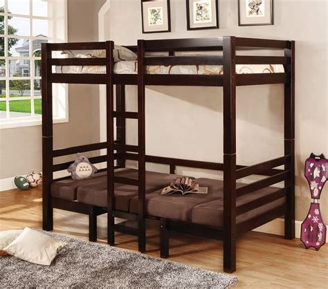 convertible loft bed dreamfurniture com 460263 bunks twin over twin