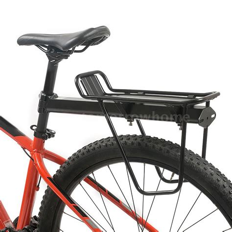 bicycle bike rear rack carry carrier seatpost mount