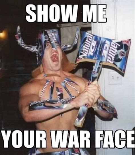 War Face Meme - image 692311 quot show me your war face quot reactions