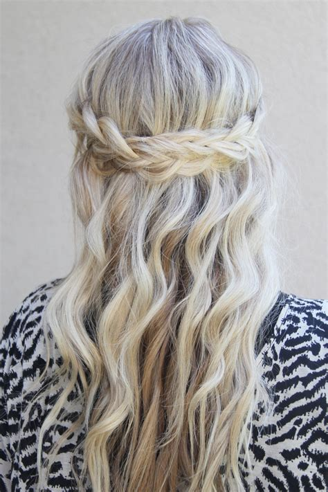 braided half up waterfall kids hair ideas pinterest braided crown ii twist me pretty