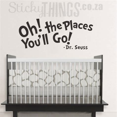 dr seuss wall stickers dr seuss wall sticker quote from stickythings co za