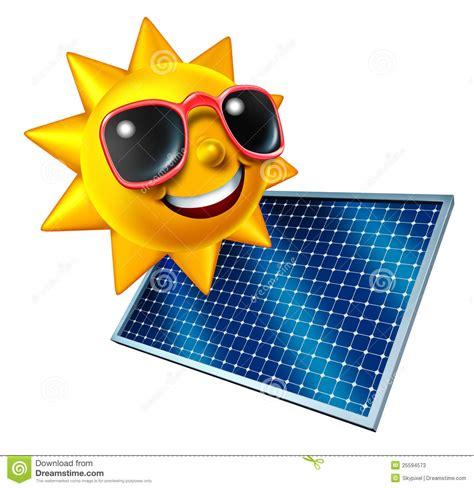 solar panels clipart sun with solar panel stock photos image 25594573
