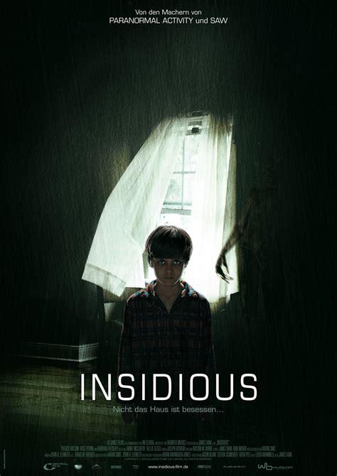 insidious movie novel insidious deutsches poster online