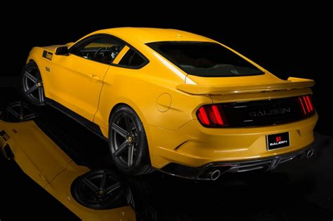 mustang salleen saleen answers the hellcat s call with a 730 horsepower