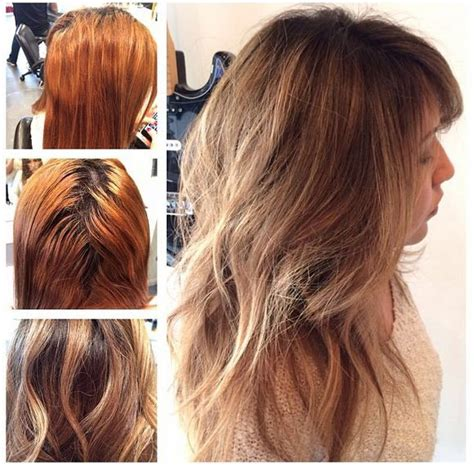 color correction for light brown hair that turned into orange how to warm autumnal blonde by jason backe modern salon