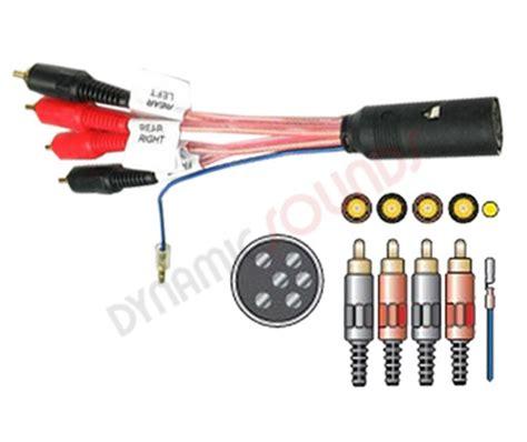 volvo wiring harness adaptor lead iso looms