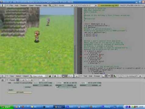 blender tutorial 2d game 2d sprite system on blender s game engine youtube