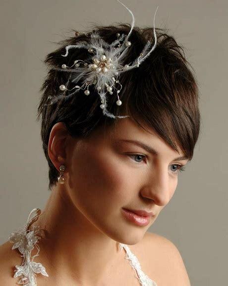 Hochzeitsfrisur Perlen by Hochzeitsfrisuren Kurze Haare Mit Perlen