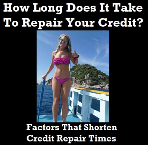 How Does It Take To Do Your Mba by How Does It Take To Repair Your Credit Part Three