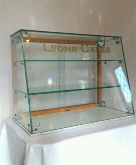 Glass Cake Display Cabinet by Lyons Cakes Glass Counter Top Display Cabinet 430594