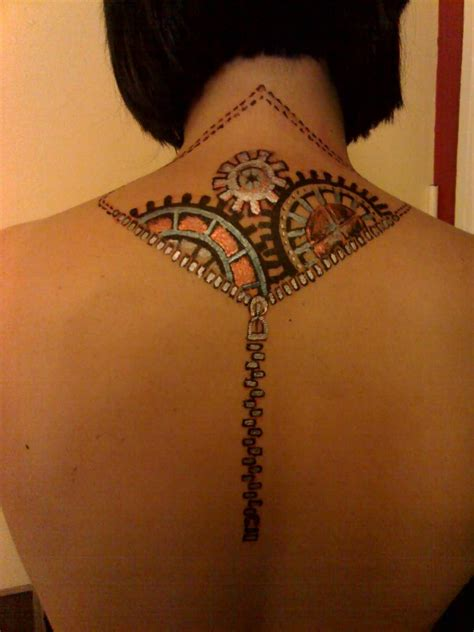 zipper tattoos 25 outstanding zipper zip tattoos design for