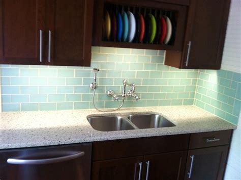 installing glass tiles for kitchen backsplashes photos glass tile backsplash