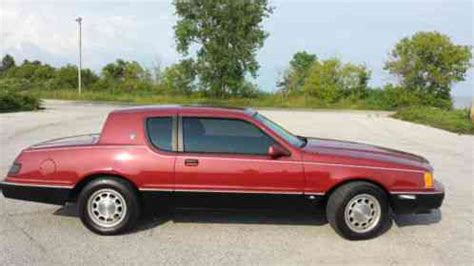 mercury cougar 1985, summary and conditionyou are looking