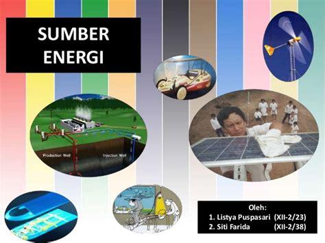 Madu Adalah Sumber Energi 1 fisika sumber daya energi