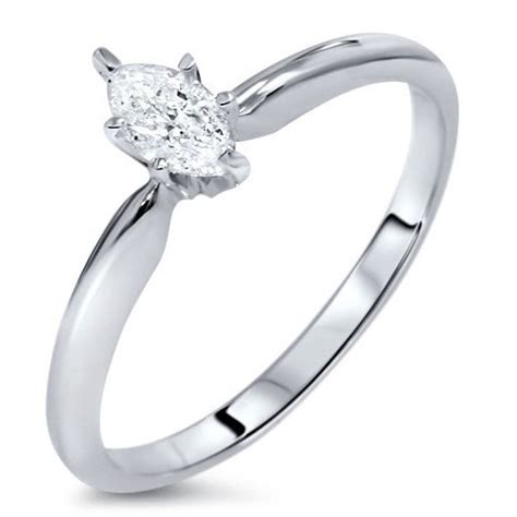 mesmerizing marquise cheap solitaire engagement ring half