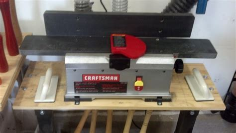 bench top jointer planer review craftsman 4 1 8 quot bench top jointer planer set up
