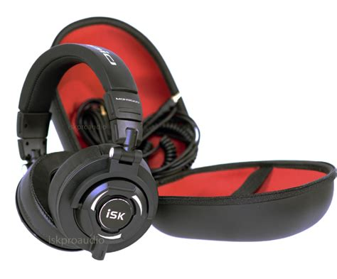 Headphone Isk isk mdh9000 studio recording monitoring headphones sw