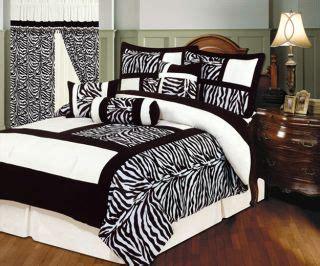 Zebra Bed In A Bag Bedding Set Pc Zebra Flocking Black Pink Comforter Set Size Bed In A Bag