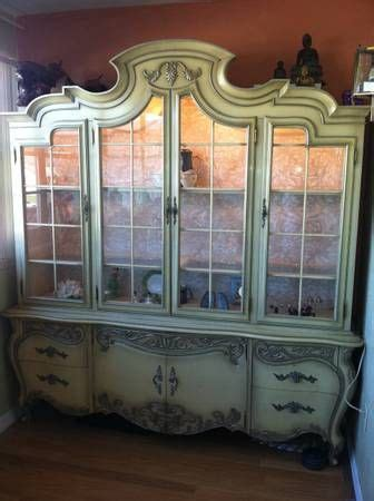 french provincial china cabinet craigslist 17 best images about china cabinets on china