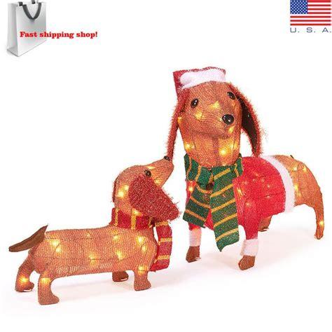 dachshund christmas lights dachshund outdoor decoration www indiepedia org