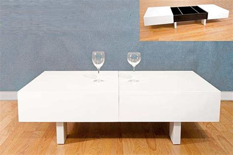 Modern Lacquer Coffee Table White And Black Lacquer Coffee Table Bm 30 Contemporary