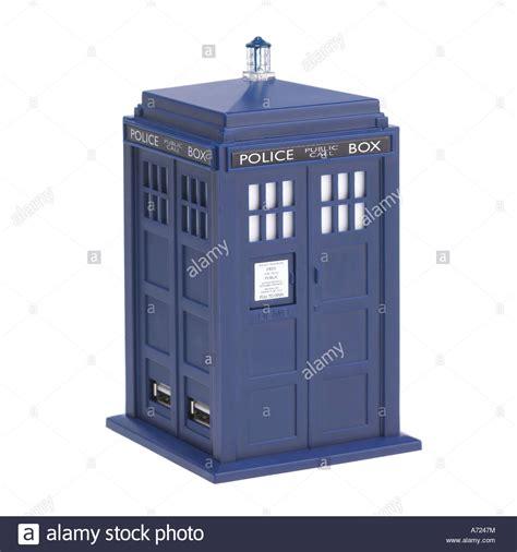 tardis box doctor who tardis call box stock photo