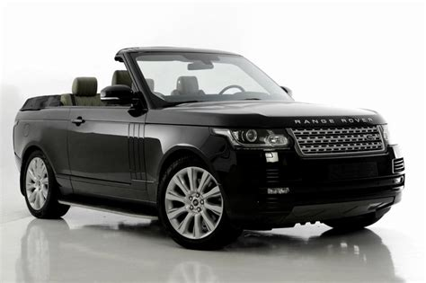Range Rover 2 Door Convertible